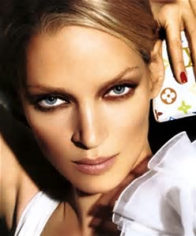 Uma Thurman - master of the smoky eye
